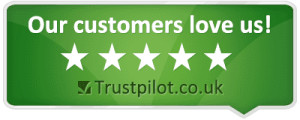 Our customers love us on Trust Pilot