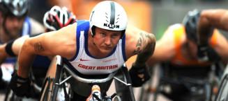 david weir paralympic marathon london