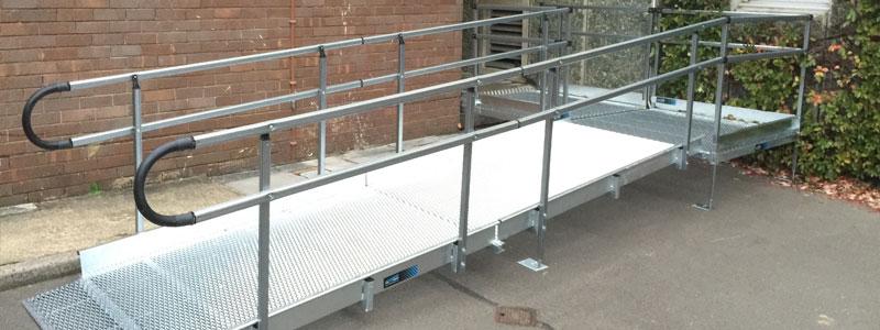 police access ramp loading