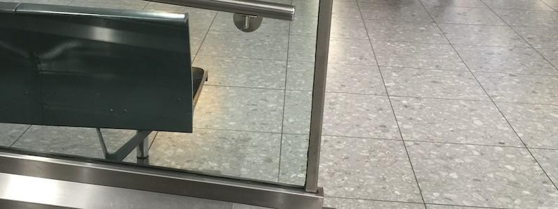 Heathrow Terminal 3 Wheelchair Ramps