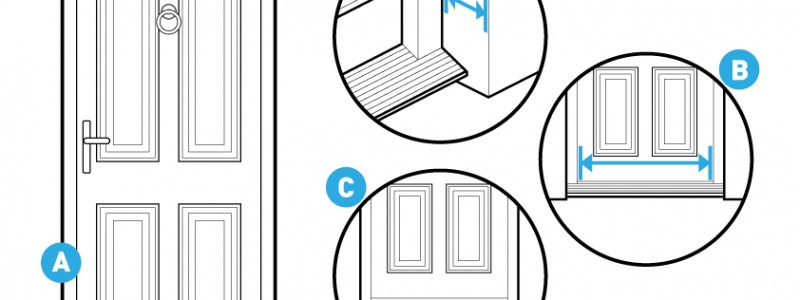 How to measure your door for a modular ramp system