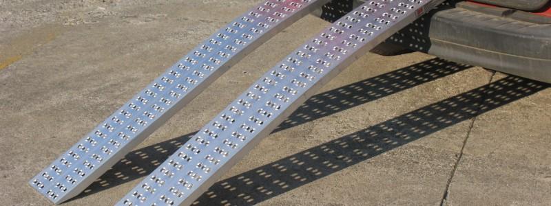 New Non Folding Lightweight Loading Ramp