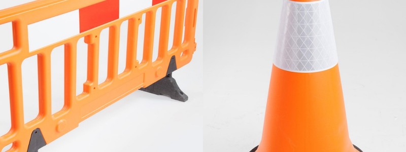 Road Safety: Traffic Cones & Barrier Fences