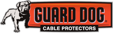 Checkers Cable Protector Guard Dog