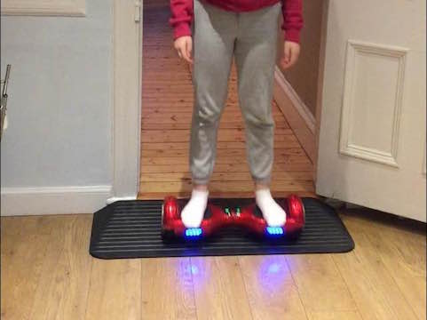 Hoverboard Rubber Threshold Ramp
