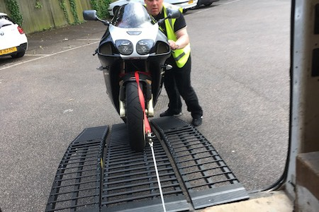 Black Widow Motorbike Ramps
