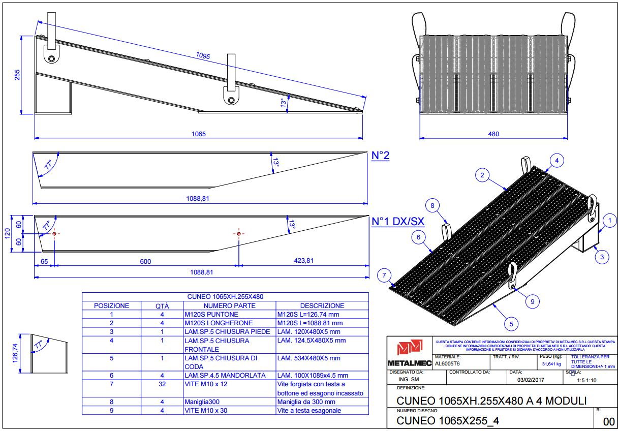 Get custom ramp solotuons with our experienced custom build production team