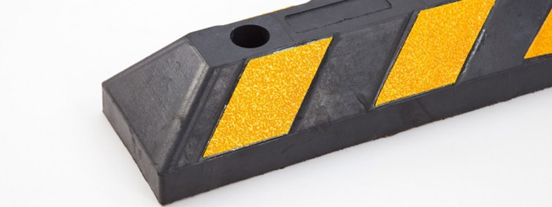 Our new Economy Wheel Stop features reflective mouldings to help avoid trip hazards for added pedestrian safety.