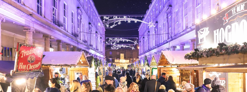 Bath accessible Christmas market UK 2019
