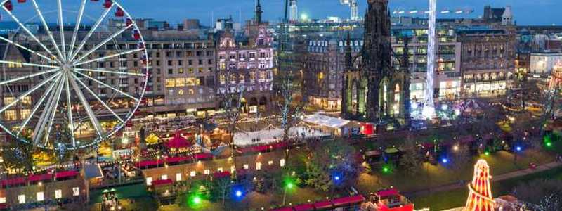 This accessible Christmas Market extravaganza is based in Edinburgh
