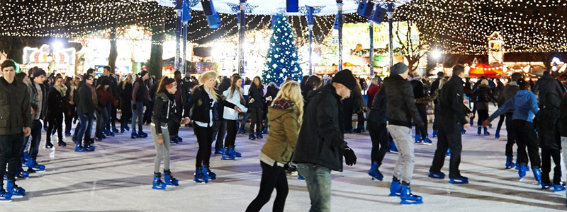 Winter Wonderland is an accessible Christmas market in Hyde Park London