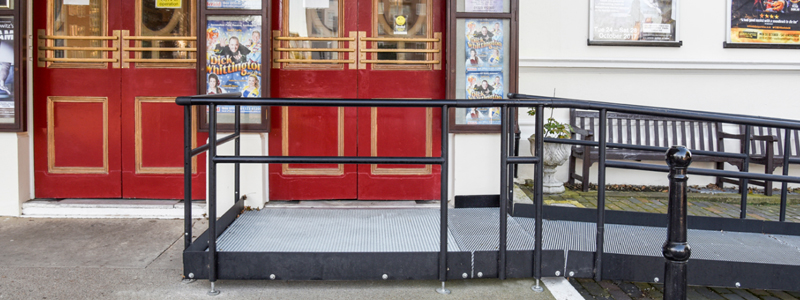 Part M ramps are perfect for public buildings looking to provide better access