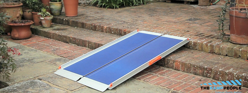 Our temporary wheelchair ramp solutions can be set up, removed and stored easily to avoid any dangerous slippery surfaces in bad weather.