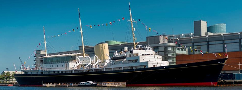 The Royal Yacht Britannia is surprisingly accessible for a boat