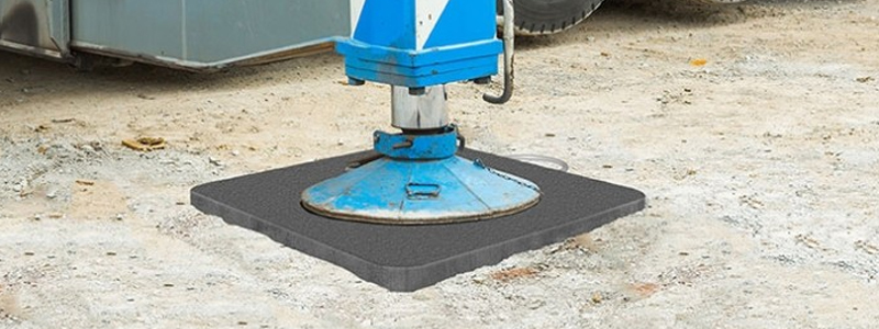 TuffTrak outrigger crane pads can be customised
