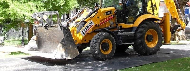 New TuffTrak ground protection