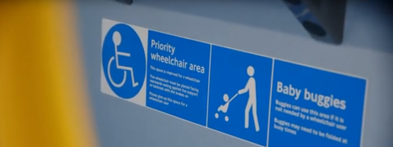 Coaches and buses should have priority seating