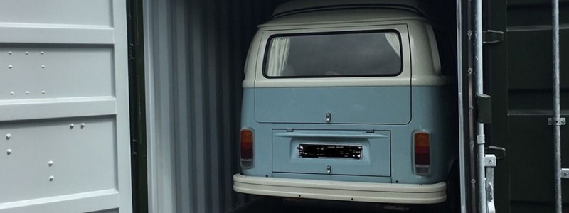 The classic VW camper van is instantly recognised all over the world