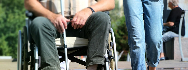 Financial support for disabled people