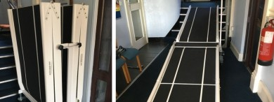 Mobile ramps for churches, schools and many other public buildings