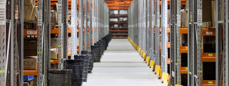 Keep your warehouse safe by keeping it tidy including clear aisles