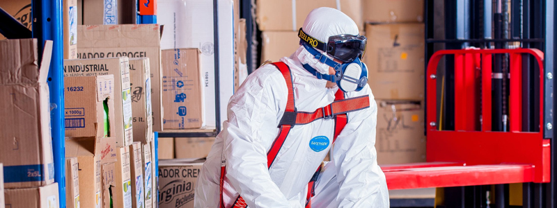 Providing the right protective clothing is essential for warehouse safety