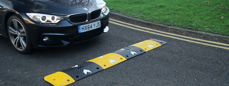 You need to inform people when you install speed bumps