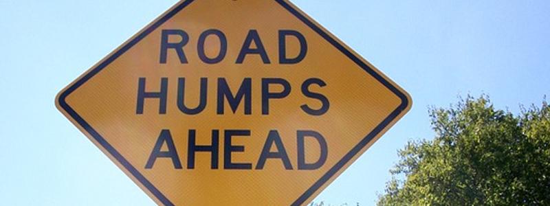 Speed bump regulations