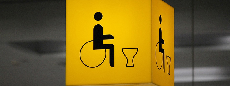If you have public toilettes there should be an accessible disabled WC