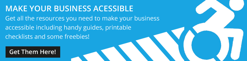 make your business disability friendly with these resources