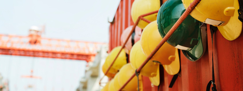 Equipment is an important part of a safety management system