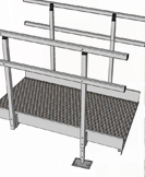 modular wheelchair ramps sections