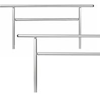 modular wheelchair ramp system handrails