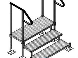 modular ramp 3 step kit