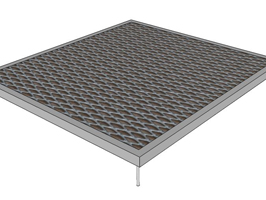mini modular ramp platform