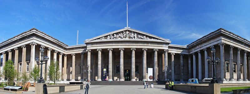 The british museum is a great accessible tourist attraction