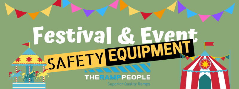 Festival and event safety equipment for event health and safety