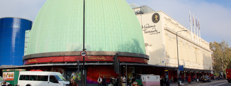 madame tussauds is good for trips for disabled people and children