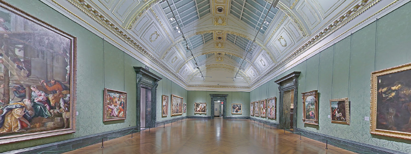 wheelchair users can visit the national gallery for an accessible trip to london