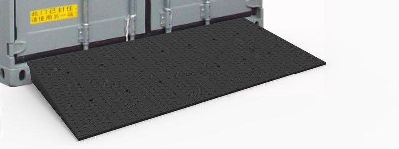 rubber container loading ramp