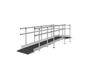 1100mm Wide Ramp System