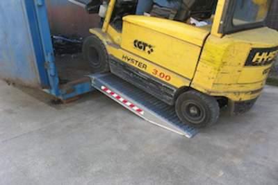 Aluminium Container Ramps