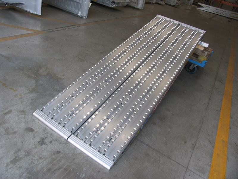 Milled Surface Ramps for Steel Track - 450mm wide