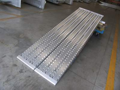 TRP130F Series - Milled Surface Ramps for Steel Track - 450mm wide
