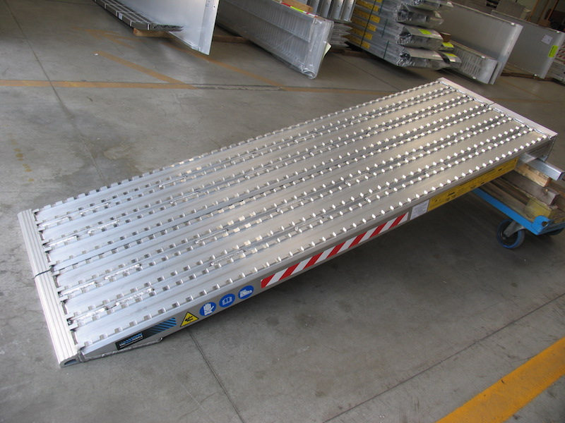 Milled Surface Ramps for Steel Track - 600mm wide
