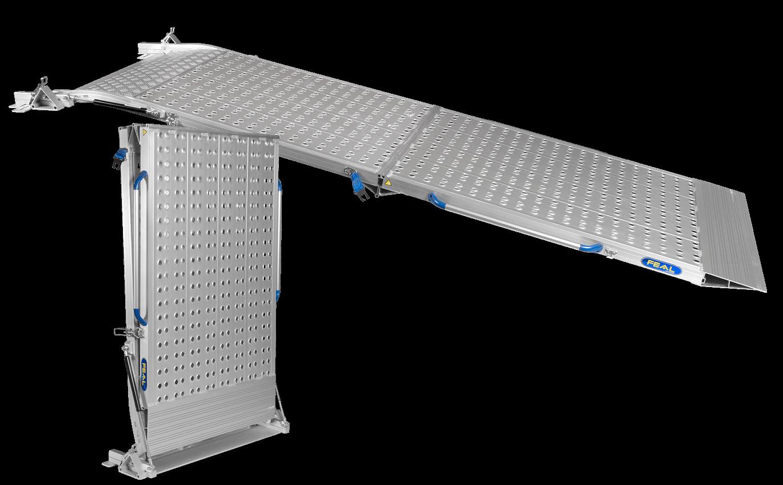 Heavy Duty 3-Part Folding Van Ramps