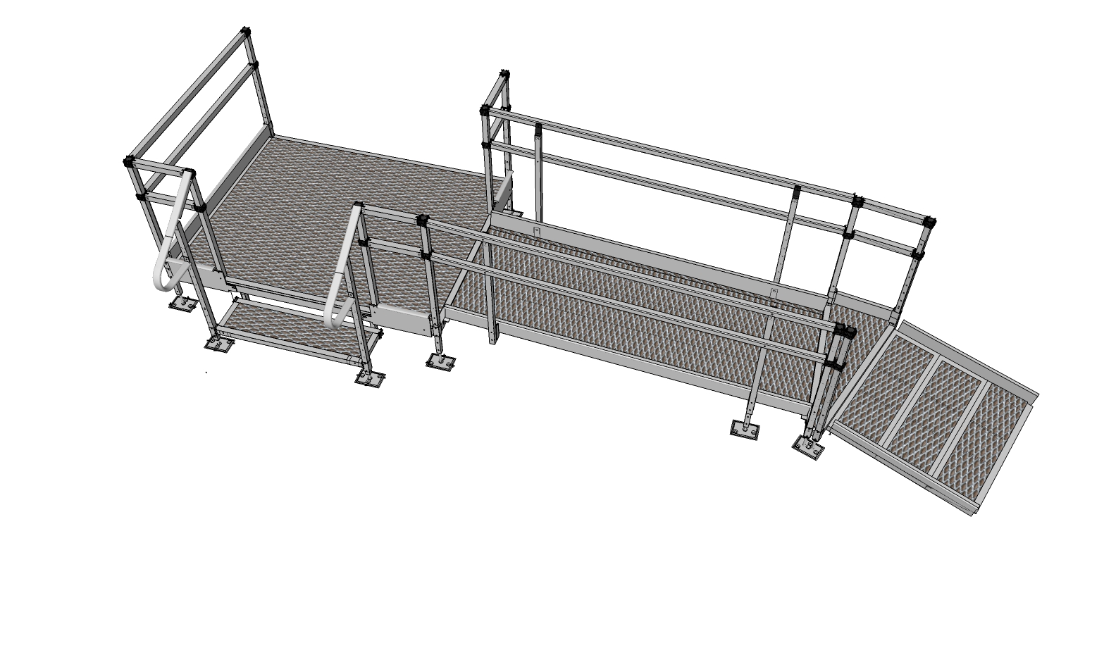1500mm Wide Ramp System