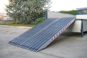 Ramps for Steel Tracks
