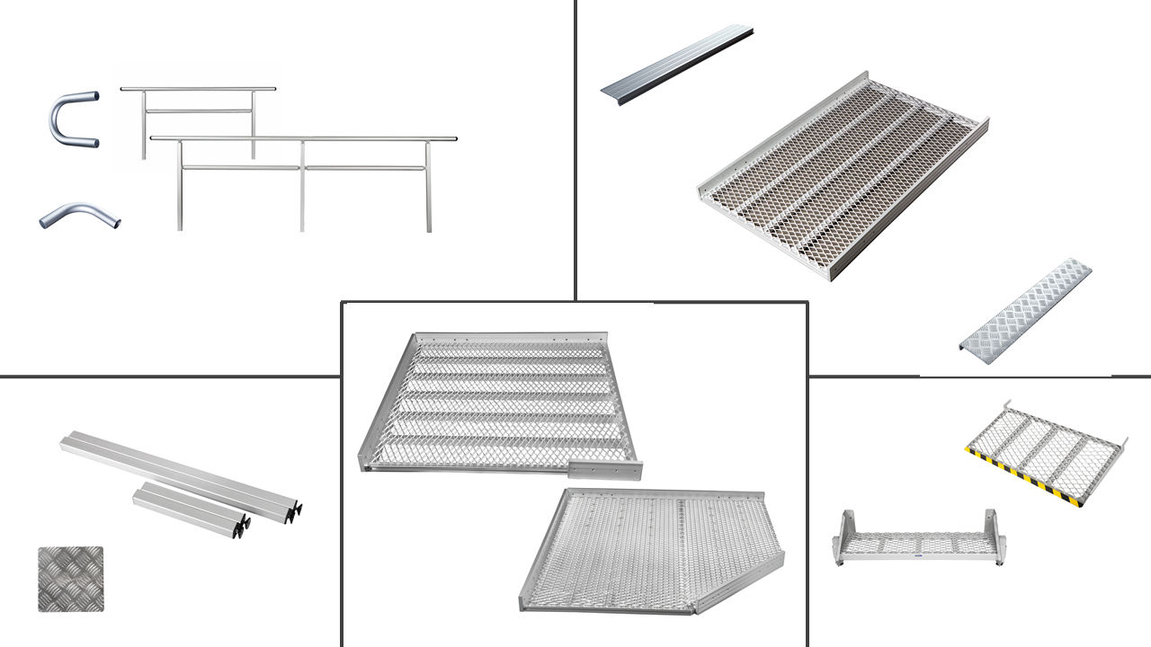 900mm Wide Ramp System - Parts