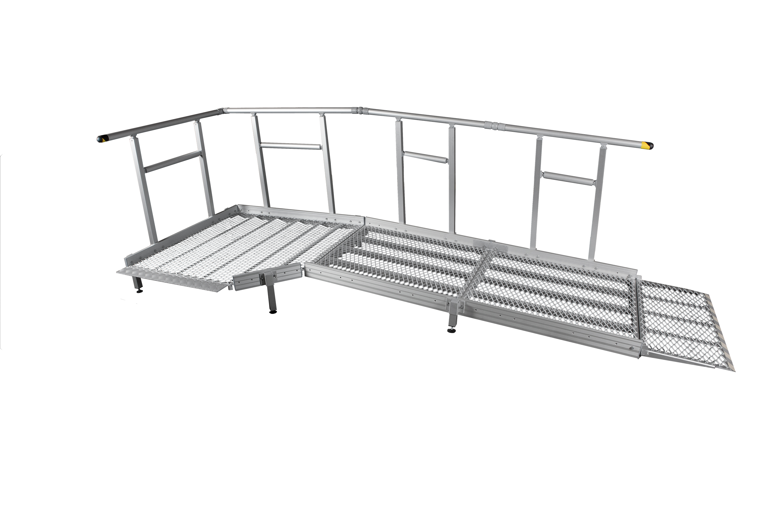 1300mm Wide Ramp system with Handrails